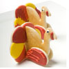 DP!   3D Turkey Cookie Cutter