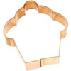 Cookie Cutter Cupcake Copper