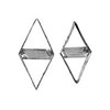 Cookie Cutter Diamond, Set of 2, Tin