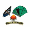 Field & Stream Camping Cake Decoration