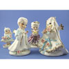 Vintage Wedding Cake Topper 502A