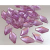 Edible Sugar Diamond Shape Lavender, Set of 30