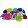 Edible Sugar Gem Stones  Assorted Colors, Set of 14