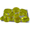 Edible Sugar Gem Stone Assortment Yellow, Set of 14