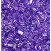 Sparkling Sugar Violet Large Crystal, 4 oz jar
