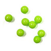 7mm Sugar Beads Lime Green, 3.5 oz jar