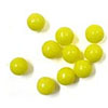 7mm Sugar Beads Yellow, 3.5 oz jar