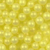 4mm Edible Pearls Yellow, 2 oz jar