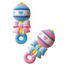 Sugar Baby Rattle, Set of 5