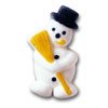 Sugar Snowman, Set of 6