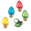 Christmas Lightbulb Cupcake Rings, Set of 12