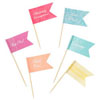 Utterly Scrumptious Canape Flags, Set of 28