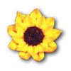 DP!  Sunflower Large Icing Decorations