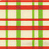 Plaid Red & Green Chocolate Transfer Sheet