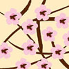 Cherry Blossoms 1 Chocolate Transfer Sheet