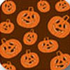 Jack-o-Lantern Orange Chocolate Transfer Sheet
