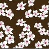 Cherry Blossoms Chocolate Transfer Sheet