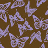 Butterflies Lavender Chocolate Transfer Sheet