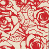 Red Roses Chocolate Transfer Sheet