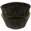 Muffin Cup Foil Black Med