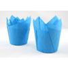 Muffin Cup Folded Blue