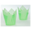 SALE!  Muffin Cup Folded Green