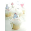 Muffin Cup Folded White
