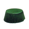 Muffin Cup Foil Green Mini