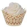 Cupcake Wrapper Lavish Ivory