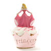 Cupcake Wrapper Princess Pink