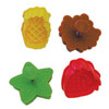 Cookie Stamp & Cutter Fruit & Leaf, Set of 4