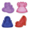 SALE!  Cookie Stamp & Cutter Fashion Theme, Set of 4