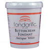 Fondarific Buttercream Fondant ANTIQUE WHITE 2 lb