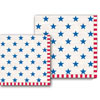 Michel Design Works Stars & Stripes Paper Napkins, Luncheon