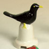 Porcelain Pie Bird, Blackbird