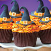 Fondant Witch Hat Cupcake Toppers How-To