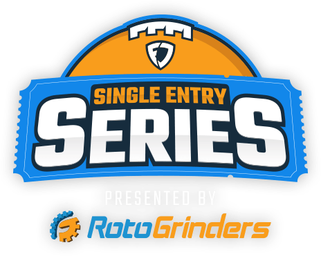 NFL Single Entry Series Presented by RotoGrinders