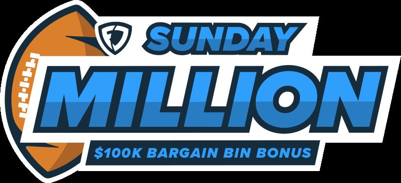 Sunday Million. $100K Bargain Bin Bonus