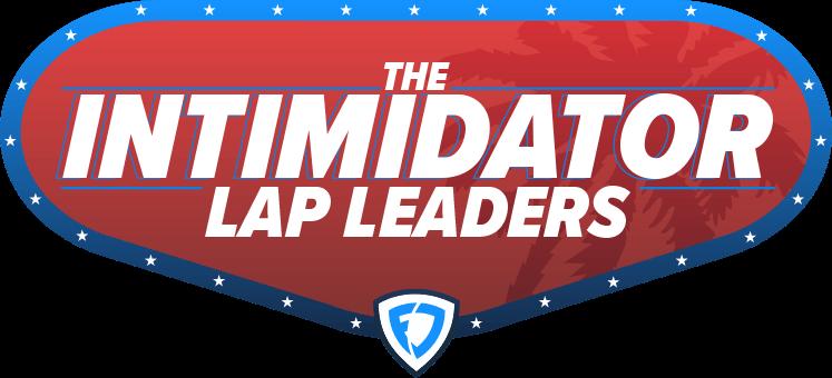 The Intimidator Lap Leaders