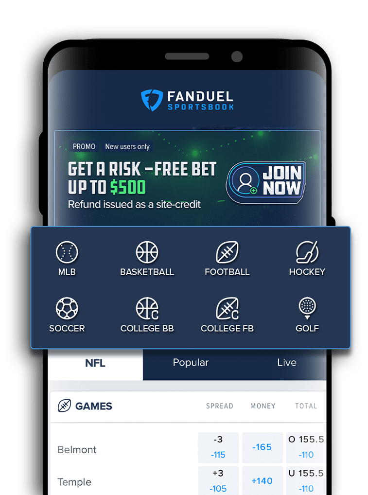 FanDuel Android - NFL Daily Fantasy, 2019 NFL season-long