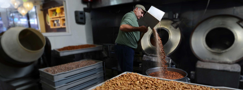 Nut Roasting
