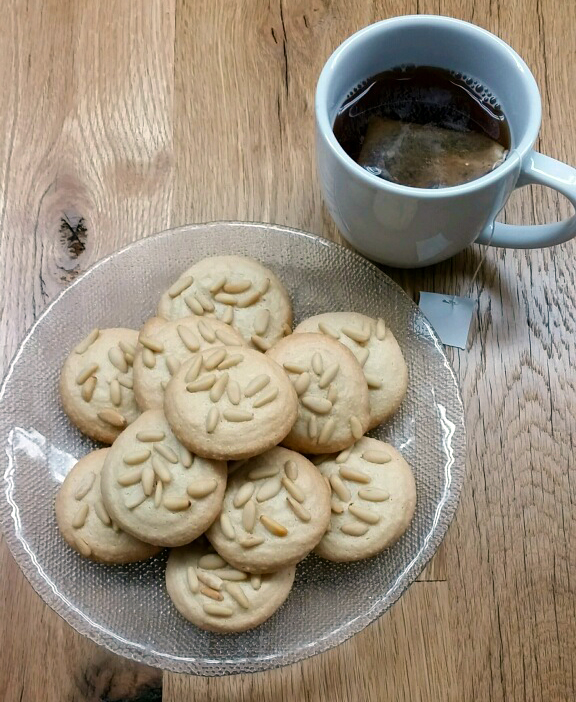 Almond-Pine Nut Cookies
