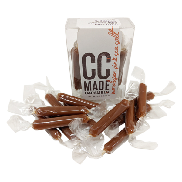 CC Made Himalayan Pink Sea Salt Caramels