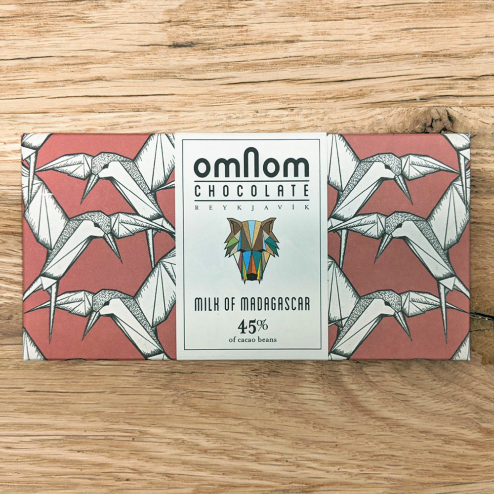 Omnom Milk of Madagascar 45%
