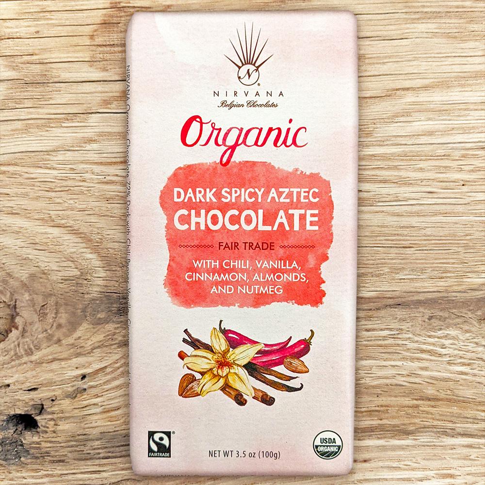 Nirvana Organic Dark Aztec Spicy 72%