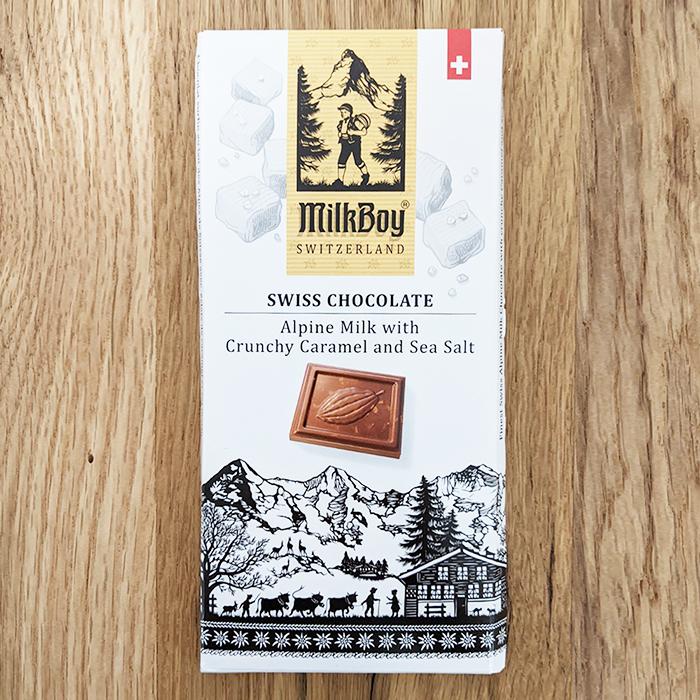 Milkboy Milk with Caramel and Sea Salt 33%