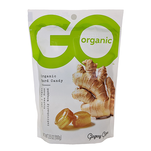 Go Organic Gingery Ginger Hard Candy