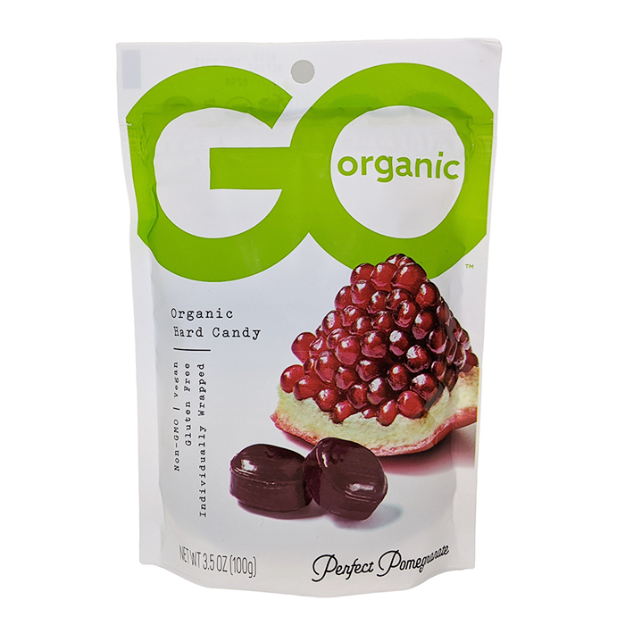 Go Organic Pomegranate Hard Candy