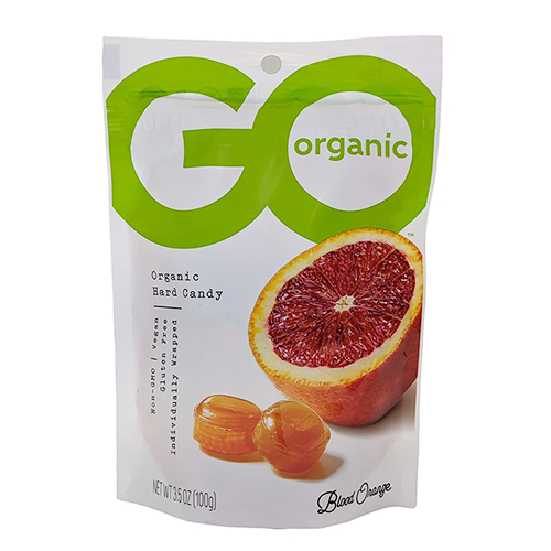 Go Organic Blood Orange Hard Candy