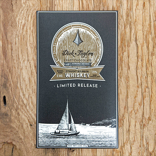 Dick Taylor Straight Bourbon Whiskey 70% (Limited Edition)